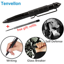 Self Defense Supplies Self-Defense Pen Tactical Defense Pen Sharp head Personal defense tool With Writing Function(China)