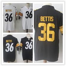 Mens 36 Jerome Bettis Jersey 2017 Rush Salute to Service High Quality Football Jerseys(China)