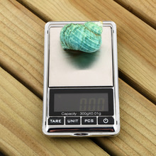 1pc Mini 0.01 x 300g Electronic Balance Gram Digital Pocket Jewelry Weighing Scale Hot Selling(China)