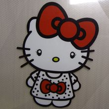 free shippping hello kitty  Heat Transfer Appliques A-level Washable Super Quality Iron Patches For Clothing DIY T-shirts