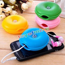 Originality Plastic Cable Winder Sea Turtle Earphone Cable Holder Headphone Organizer Wrap Wire Holder Box Cord Cable Random