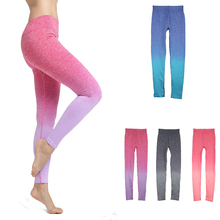 Stretch Pants Trousers Sports Clothing Fitness Leggings Sexy women Yoga Pants Colourfull 4 Gray Red Blued/4size S/M/L/XL