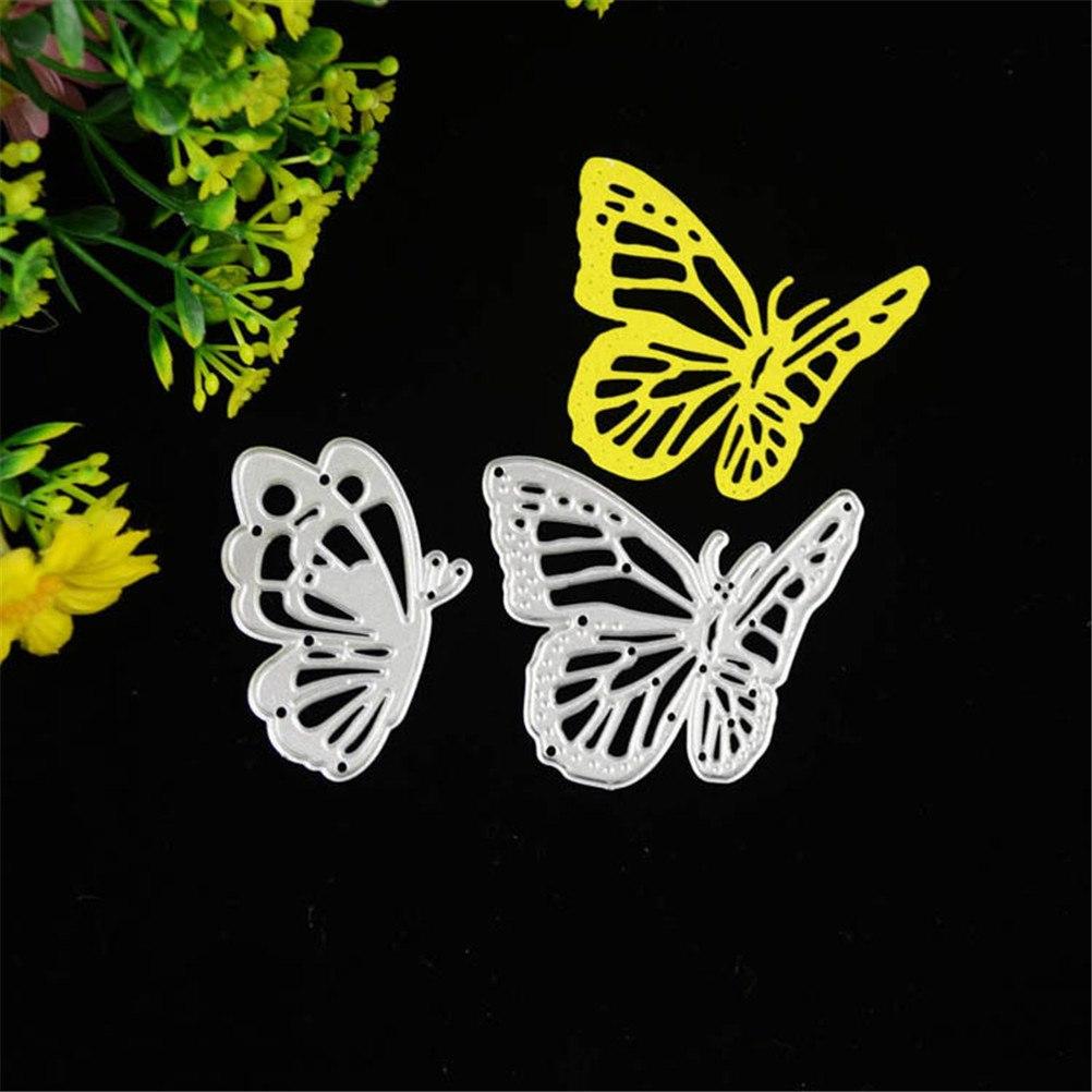 Scrapbooking Metal Butterfly Cutting Dies Stencils DIY Cards Album Template Embossing Decoration Die Cutter Folder