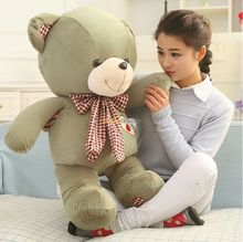 Fancytrader New Style! 39'' / 100cm Cute Soft Stuffed JUMBO Plush Teddy Bear, 3 Colors Available,  Free Shipping FT50388