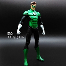 SAINTGI Green Lantern dc Super Hero Captain America Marvel PVC 15cm Collection Model Gift Action Figure Doll Boy Toy gift ARTFX