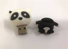 hot selling Cartoon panda  USB stick lovely USB 2.0 usb Flash Drive Memory Stick/Gift /U Disk/Creativo Pendrive/1gb-64gb 3149