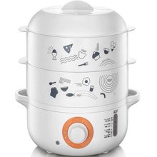 650W anti-dry  4L large capacity Double Electric Food Steamers