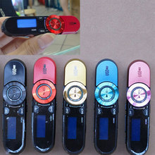 New Sport Mp3 Player with Clip + FM Radio Pen USB Flash Drive Recording MP3 Music Player with Retail Box for Sony GDeals