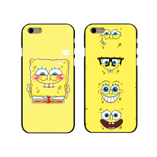 Sponge Bob And Patrick Cartoon Pattern Hard Plastic Snap on Phone Case  Cover For Iphone 4 4S 5 5S 5C 6 6 Plus 7 7plus