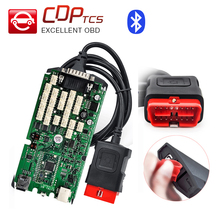 A+ Quality cdp tcs pro bluetooth single green board 2015.R3 keygen software cars trucks OBD2 scanner OBD 2 diagnostic-tool