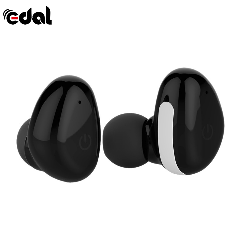 EDAL Stereo Bluetooth Earphones Binaural Touch Waterproof Headphones True Wireless Mini Sports Headsets With Charging Base<br>