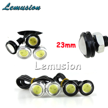 2X Car 23mm Eagle Eye DRL Lamp For Peugeot 307 206 308 407 207 2008 3008 508 406 208 For Citroen C4 C5 C3 C2 Accessories(China)