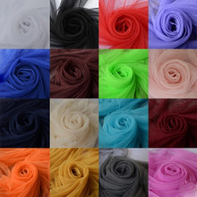 160CM Width Soft Encryption Mesh Fabric For Sewing Wedding Dress Costume Or DIY Mosquito Net 10 Meters