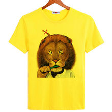 e94a40d7013 BGtomato The King of Jungle lion t shirts funny style cartoon casual shirt  personality designer lovely brand shirts
