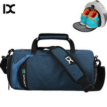 Men Gym Bags For Training Waterproof Wet Dry Fitness Women Outdoor Sports Football Bag With independent Shoes Storage XA355WA(China)