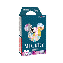Original Fujifilm Instax Mini 8 Film 10 Sheets Mickey Photo Paper For Polaroid mini 8 50s 7s 90 25 Share SP-1 Instant Camera(China)