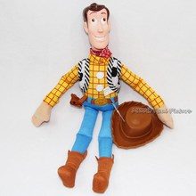 45cm Toy Story WOODY Cartoon Action Figure PP Cotton Plush Model Toys For Children Christmas Gift Free Shipping