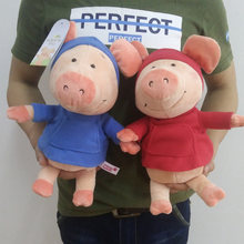 Cartoon 32cm 12.6'' Nici Pink Pig Wibbly Pig Plush Soft Doll Animal Stuffed Toy For Kid Children Birthday Gift Good Quality(China)