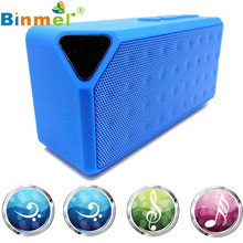 2017 High Quality Mini Bluetooth Wireless Boombox Stereo Speaker Portable For iPhone For Samsung Tablet PC JA12 E21(China)