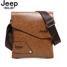 JEEP BULUO Men Shoulder Bag Classic Brand Men Bag Vintage Casual Men Messenger Bags Promotion Crossbody Bag Male Hot Sell A16(China)