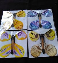 100pcs magic butterfly flying butterfly change with empty hands freedom butterfly magic props magic tricks