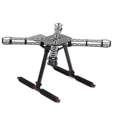 S380 Update Version X4 380mm Carbon Fiber DIY Quadcopter Frame Kit with 170mm High Aluminum Landing Gear Skid for RC FPV Drone