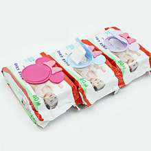 1Pc Colorful New Baby Wet Paper Lid Wet Wipes Cover Wet Tissue Reusable Lid Baby Care(China)