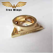 Free Wings  New Fashion Punk Gothic Gold Accessories Finger Rings Set For Women Men Charms