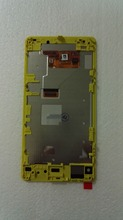Yellow /black/pink For Sony Xperia z1 compact z1mini D5503 M51w Lcd Display+Touch Glass Screen+ frame assembly free shipping