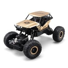 Buy RC Car 4WD 2.4GHz Rock Crawlers Rally climbing Car 4x4 Double Motors Bigfoot Car Remote Control Model Off-Road Vehicle Toy for $120.99 in AliExpress store