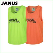Mesh Polyester Running Sports Shirt Sleeveless Women Men Soccer Basketball Training Group Against Vest(China)