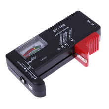 BT168 Digital Battery Tester Universal Electronic Battery Checker for AA AAA 9V Button Multi Size Voltage Meter Tool