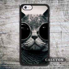 Sun Glasses Cat font b Case b font For font b iPhone b font 7 6