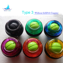 Tested! Type-3 Gyroscope PowerBall Gyro Power Ball Wrist Arm Exercise Strengthener Force Ball