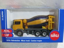Siku 1:64 1896 Cement mixer Classic boutique alloy car toys for children kids toys Model Original box freeshipping