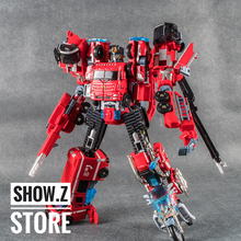 [Show.Z Store] Weijiang Rescue Combiner FIRE KING DEFENSOR Metal Parts Action Figures No Box transformation