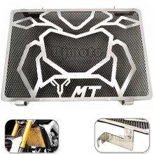 BJMOTO Motorcycle Stainless Steel Radiator Guard Cover Protector For Yamaha MT09 MT-09 MT 09 2014 2015