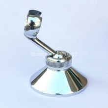 New Polished Chrome Bathroom Hand Held Mixer Shower Head Holder Bracket Wall Fixture Bathroom Accessory ash060