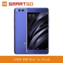 Original Xiaomi Mi6 Mobile phone 6 GB RAM 128GB ROM Snapdragon 835 Octa Core 5.15''  1920x1080 Dual Cameras Android 7.1 Global