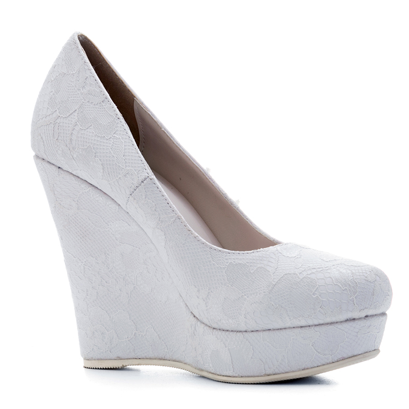 Detail Feedback Questions about Kcenid Spring white wedges wedding ... c57aad462f40
