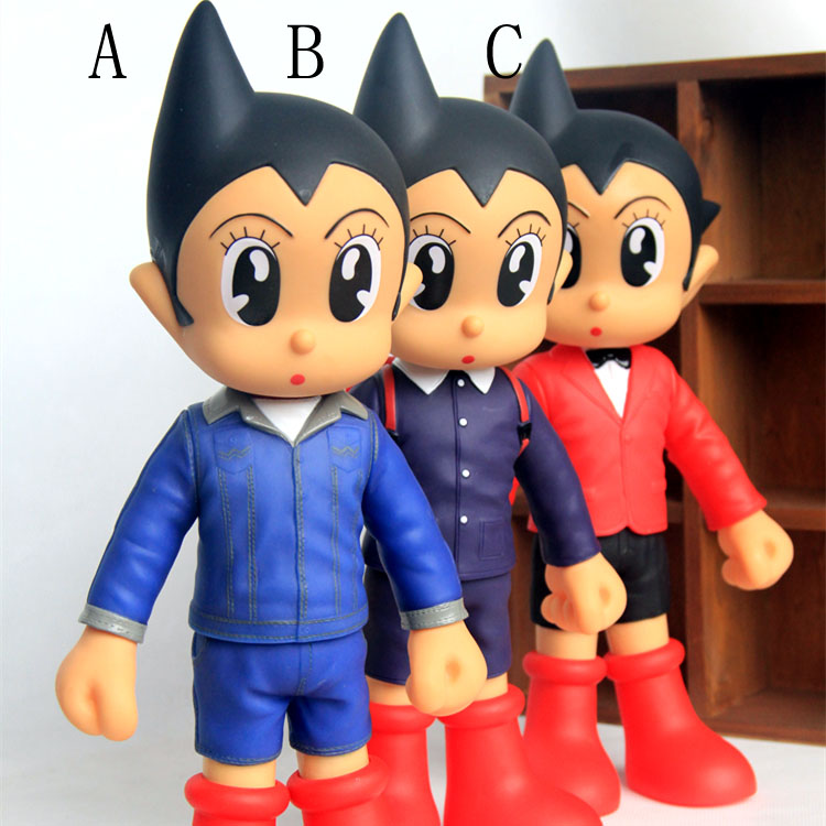 Anime Astro Boy Figure Toys Tetsuwan Atom Jeans /World ASTRO BOY PVC Action Figures Toy Christmas Gifts Free Shipping<br><br>Aliexpress