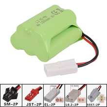 6v 1800mah AA NI-MH T Battery Electric toys Remote car ship robot rechargeable free shipping(China)
