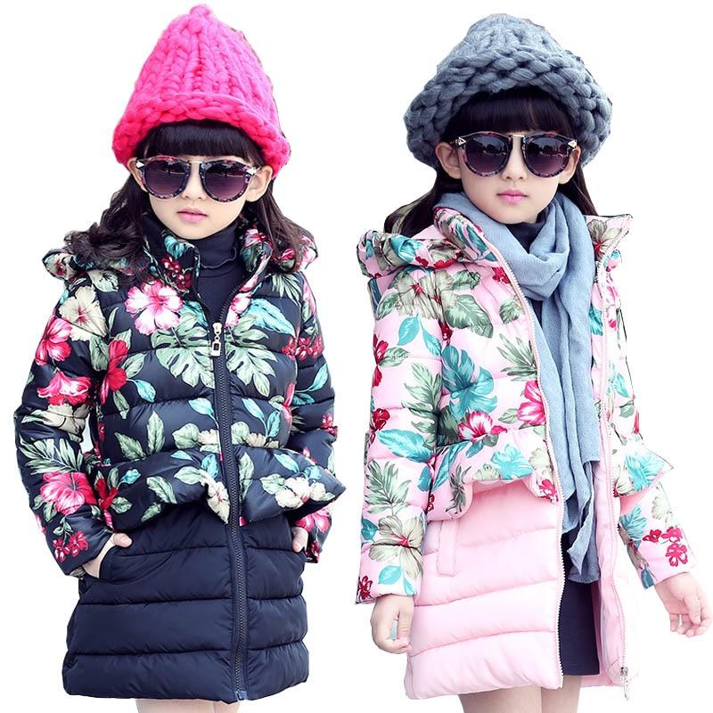 Girls winter coats kids snowsuit clothes warm children winter jackets for girls children clothing down coat parkas outerwearÎäåæäà è àêñåññóàðû<br><br>