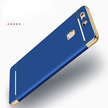 Luxury Shockproof Hard PC Cases for Huawei P8 lite Case for Huawei P9 lite Cases For Huawei P10 Cover Honor 6X Mate 9 Case P35