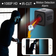 Buy 1080P HD Mini WIFI IR-CUT Camera Wireless Infrared Night Vision Small Cam wi-fi IP Micro Camcorder Remote Alarm Recorder DV DVR for $75.97 in AliExpress store
