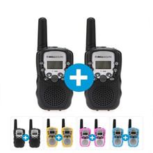 2pcs 22 Channels T388 Auto Multi-Channels children's radio 2-Way Radios kids Walkie Talkie T-388 Flighting
