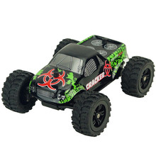 2017 virhuck 1:32 Scale Rc Monster Truck Radio Remote Control Buggy Big Wheel Off-Road Vehicle Dropship Y7911(China)