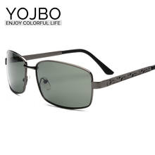 YOJBO 2017 Limited Promotion Adult Alloy Polarized Sunglasses Pilot Brand Designer Mirror Sun Shades Glasses For Women 8088