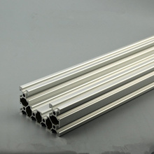 4080U aluminum extrusion profile european standard length 500mm industrial aluminum profile workbench 1pcs