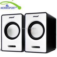 MERRISPORT 3.5mm Jack Laptop Speakers Mini 2.0 USB Speakers for Iphone Samsung Desktop Computer PC Notebook Tablet MP3/4 Players(China)